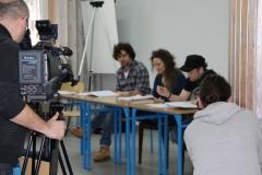Próba spektaklu aktorów Teatru Lubuskiego